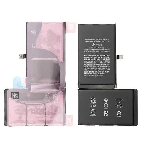 Image of New 3174 mAh Battery with Adhesive for iPhone XS Max A1921 A2101 A2102 A2104 - Batteries