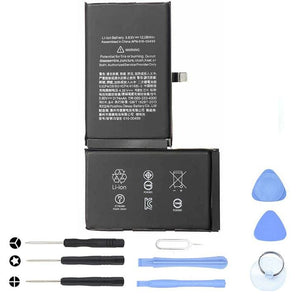 New 3174 mAh Battery with Adhesive for iPhone XS Max A1921 A2101 A2102 A2104 - With Tool Kit - Batteries