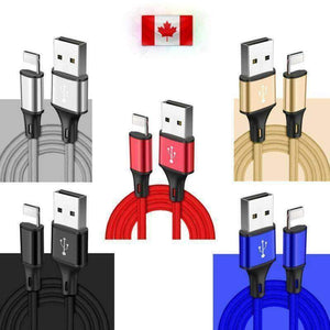 New 8pin Lightning USB Cable 3/6/10 Ft Charging Apple iPhone XS XR 8 7 Plus 6 S - Accessories