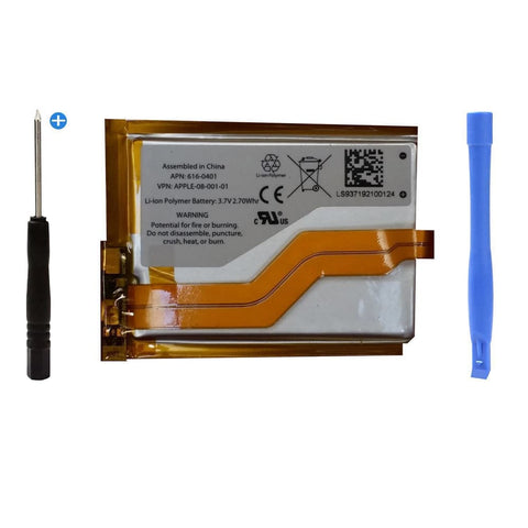 New Apple iPod Touch 3rd Generation 3G Replacement battery + Free tools - Batteries