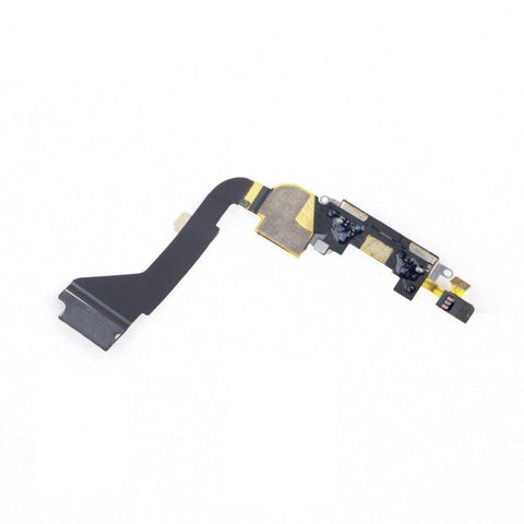 New Black iPhone 4 4G Charging Port Dock Connecter + Microphone Flex Cable - Charge Ports
