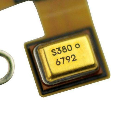 Image of New Black iPhone 4S 4GS Charging Port Dock Connecter + Microphone Flex Cable - Charge Ports