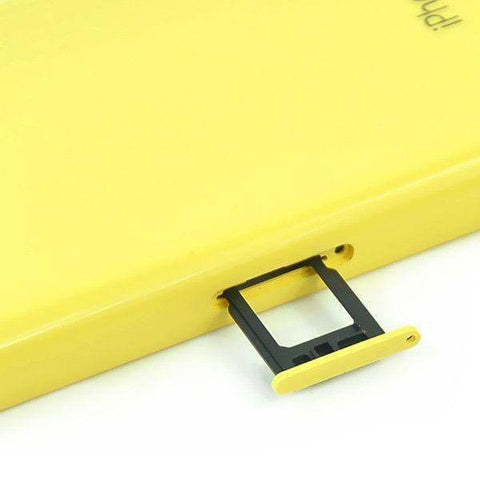 Image of New iPhone 5C Back Housing Mid Frame Assembly with Cables Parts tools - Yellow - Housing Assembly