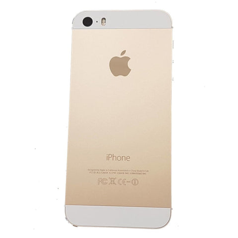 New iPhone 5S Back Housing Mid Frame Assembly with Cables Parts tools - Gold - Housing Assembly