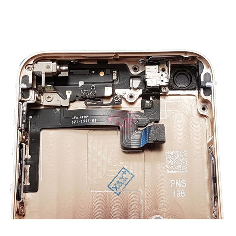 Image of New iPhone 5S Back Housing Mid Frame Assembly with Cables Parts tools - Gold - Housing Assembly