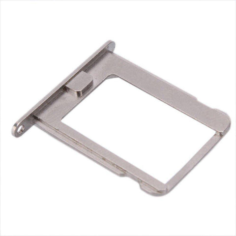 New Original iPhone 4 4S SIM Card Tray Holder with Eject Tool - Silver - SIM Card Tray