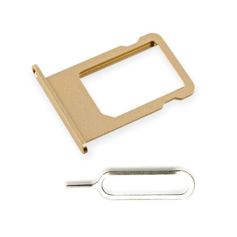 New Original iPhone 5 SIM Card Tray Holder with Eject Tool - Gold - SIM Card Tray