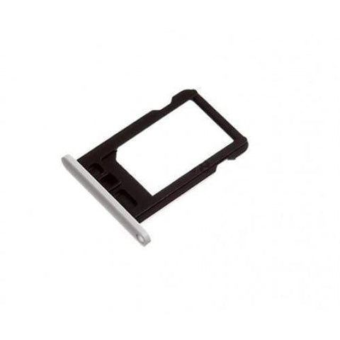 Image of New Original iPhone 5C SIM Card Tray Holder with Eject Tool - White - SIM Card Tray