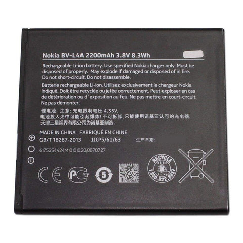 New Original OEM BV-L4A Battery for Nokia Lumia 830 RM-984 RM-985 - Batteries