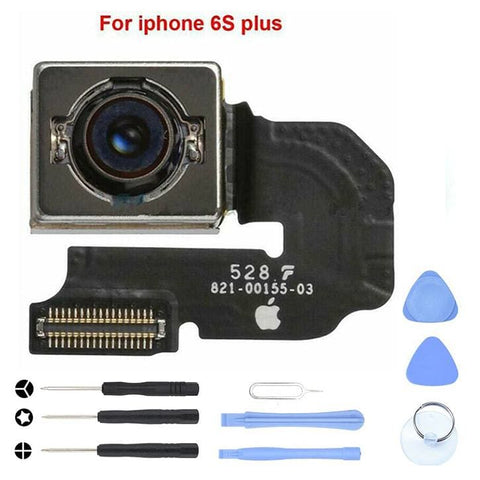 Image of New Replacement Back Rear Camera Flex Cable for iPhone 6S Plus A1634 A1688 A1699 - With Tool Kit - Cameras