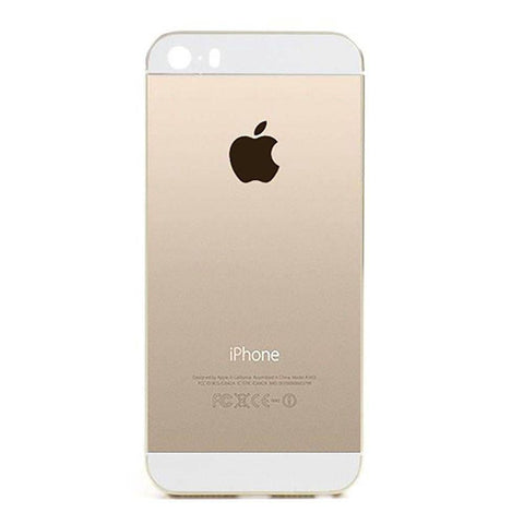New Replacement iPhone 5S Back Housing Mid Frame Assembly - Gold - Housing Assembly