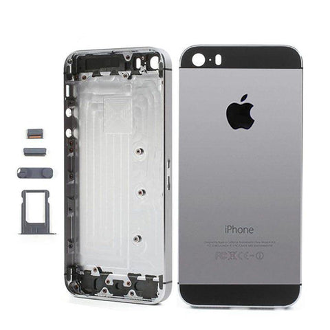 Image of New Replacement iPhone 5S Back Housing Mid Frame Assembly - Gray - Housing Assembly