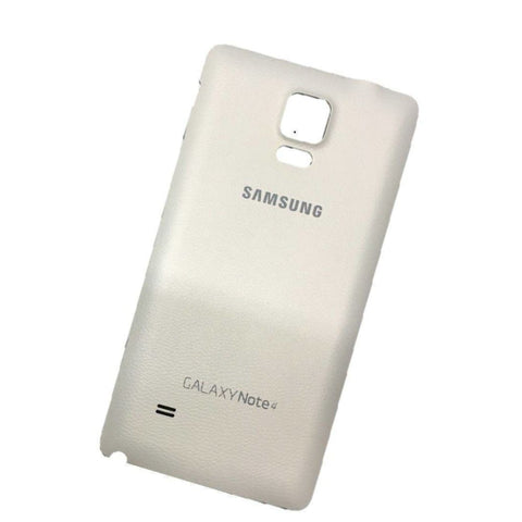New Samsung Galaxy Note 4 Back Battery Door Cover - White - Battery Covers