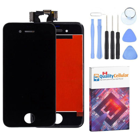 Image of New Touch Screen LCD Digitizer Replacement Assembly for iPhone 4 GSM - Black - LCD's & Digitizers