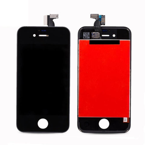 New Touch Screen LCD Digitizer Replacement Assembly for iPhone 4 GSM - Black - LCDs & Digitizers