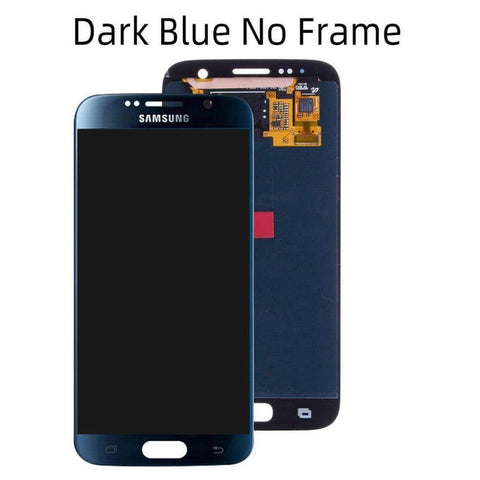 OLED LCD Touch Screen Digitizer for Samsung Galaxy S6 G920W8 G920A G920F - Dark Blue No Frame - LCDs & Digitizers