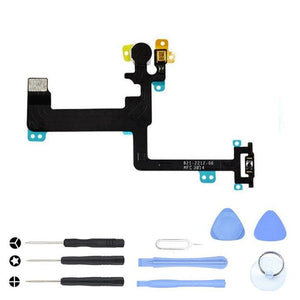 On Off Power Button Control Sensor Flex Cable for iPhone 6 A1549 A1586 A1589 - With Tool Kit - Power Switch