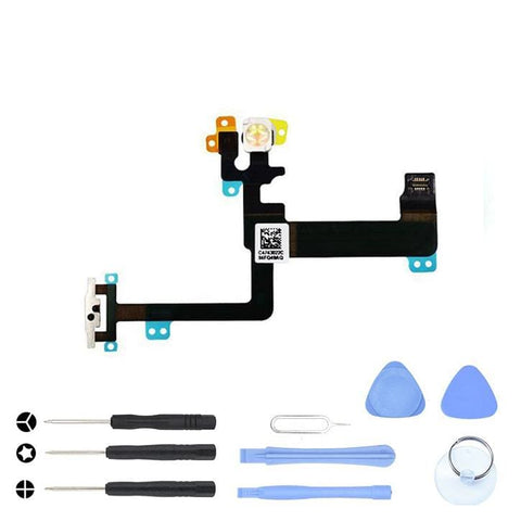 On Off Power Button Switch Flex Cable for iPhone 6 Plus A1522 A1524 A1593 - Power Switch