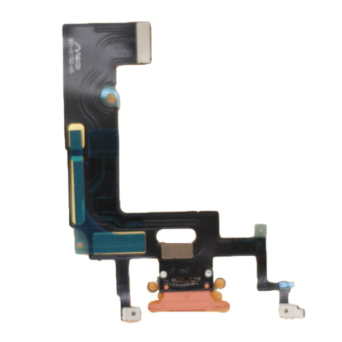 Image of Orange Charging Charge Port Lightning Connector for iPhone XR A1984 A2106 A2108