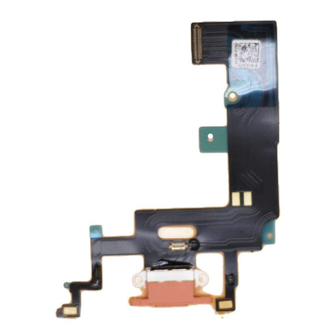 Image of Orange Charging Charge Port Lightning Connector for iPhone XR A1984 A2106 A2108 - No Tools