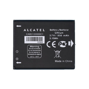 Original Alcatel CAB3120000C1 Battery for 510A OT-800 OT-880A OT-710D OT-768T - Batteries