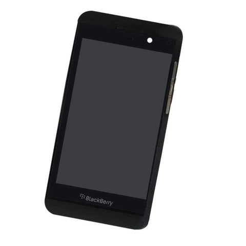 Image of Original Blackberry Z10 4G Black LCD Display Touch Screen with Frame - LCDs & Digitizers