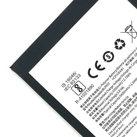 Image of Original BLP633 3400 mAh Battery Replacement for OnePlus 3T A3010 - Batteries