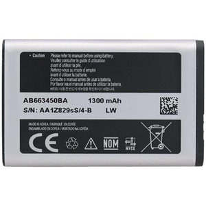 Samsung Rugby 2 II SGH-A847 Rugby 3 III A997 battery 1300 mAh - Batteries