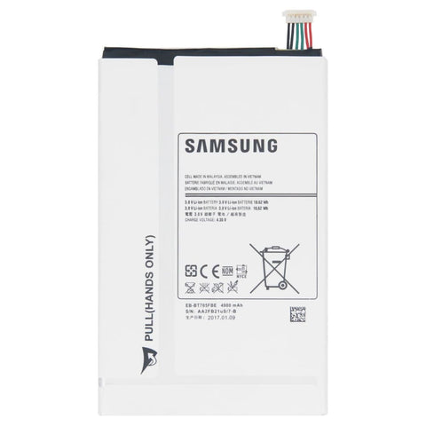 Image of Original Samsung Galaxy Tab S battery 8.4 4900 mAh EB-BT705FBE - Batteries