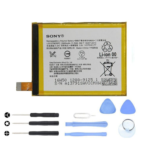 Image of Original Sony Xperia Z4 / Z3 Plus / C5 Ultra Battery LIS1579ERPC 2930 mAh - With Tool Kit - Batteries