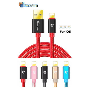 Original TIEGEM Heavy Duty Fast Charging 8 Pin USB Lightning Cable - Charging Cables