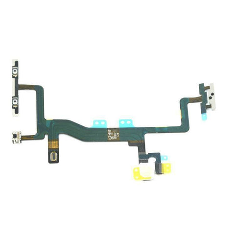Image of iPhone 6S 4.7 On Off Power & Mute Volume Control Button Switch Flex Cable - Power Switch