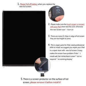 Premium LCD Display Screen for iPad Mini 2 A1489 A1490 Mini 3 A1599 A1600 A1601 - LCDs & Digitizers