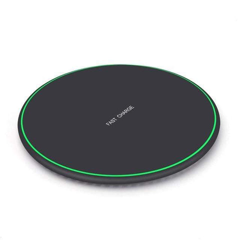 Image of QI Wireless Charger 10W for iPhone X 8 Plus XR XS Max For Samsung S8 S9 S10 - ABS - Wireless Chargers