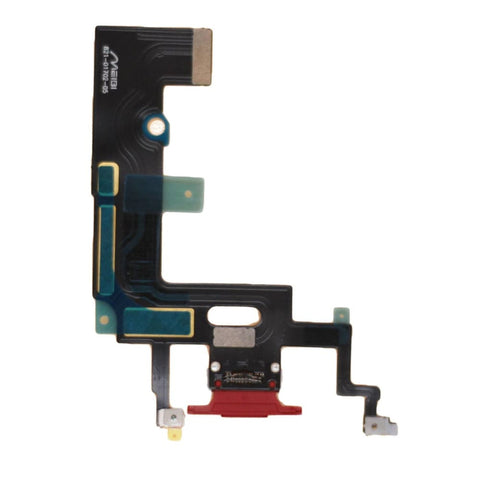 Image of Red Charging Charge Port Lightning Connector for iPhone XR A1984 A2106 A2108