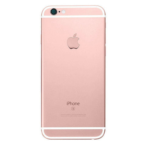 Image of New iPhone 6S Plus Back Housing Mid Frame Assembly with Cables Parts tools - Rose Gold - Housing Assembly