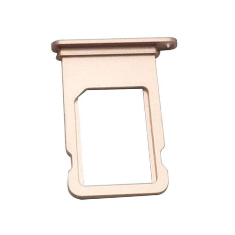 Image of New iPhone 7 SIM Card Tray Holder Replacement with Eject Tool - Rose Gold - SIM Card Tray