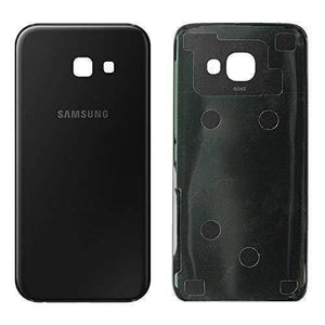 Samsung Galaxy A5 2017 A520 Rear Back Battery Cover Door with Adhesive - Black - Battery Covers