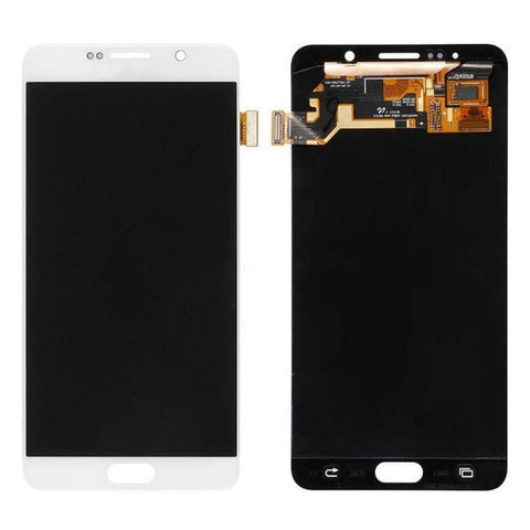 Image of Samsung Galaxy Note 5 OEM LCD Digitizer Assembly - White - LCDs & Digitizers