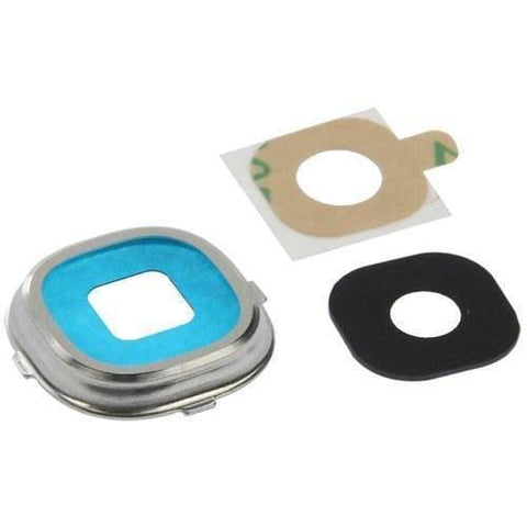 Samsung Galaxy S4 Rear Camera Lens Glass Cover and Bezel with Adhesive - Camera Lens Cover