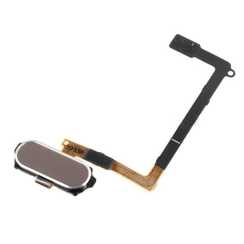 Image of Samsung Galaxy S6 Home Button Flex Assembly - Gold - Home Button