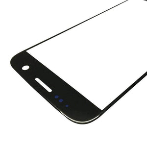 Samsung Galaxy S7 Front Glass Lens with Adhesive - Black - Front Glass
