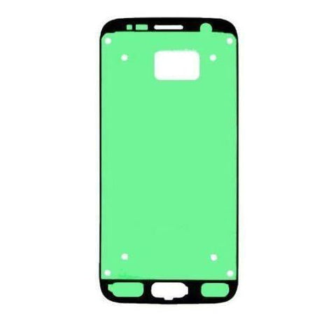 Image of Samsung Galaxy S7 Front Glass Lens with Adhesive and Free Tools - Silver - Front Glass