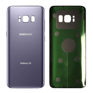 Samsung Galaxy S8 Rear Back Battery Cover Door with Adhesive - Gray - Battery Covers