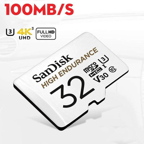 Image of SanDisk Micro SD Card High Endurance Video Monitoring 32GB 64GB 128GB 256GB - Micro SD Cards