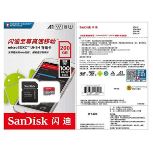 Sandisk Micro SD Ultra Memory Card SD/TF 16GB 32GB 64GB 128GB 200GB 256GB 400GB - Micro Sd Memory Cards