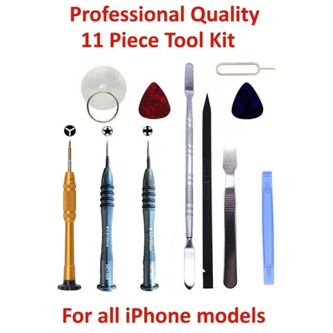Image of Screwdriver Opening Repair Tool Kit for iPhone 3G 4 4S 5 5C 5S 6 Plus 6S 7 8 X - Tool Kits