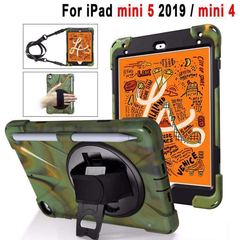 Image of Shoulder Hand Strap Case for Apple iPad mini 4 mini 5 2019 7.9 A1538 A2125 A212 - Accessories