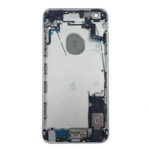 New iPhone 6S Plus Back Housing Mid Frame Assembly with Cables Parts tools - Silver - Housing Assembly