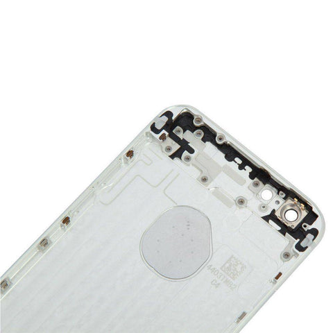 New Replacement iPhone 6 Back Housing Mid Frame Assembly - Silver - Housing Assembly